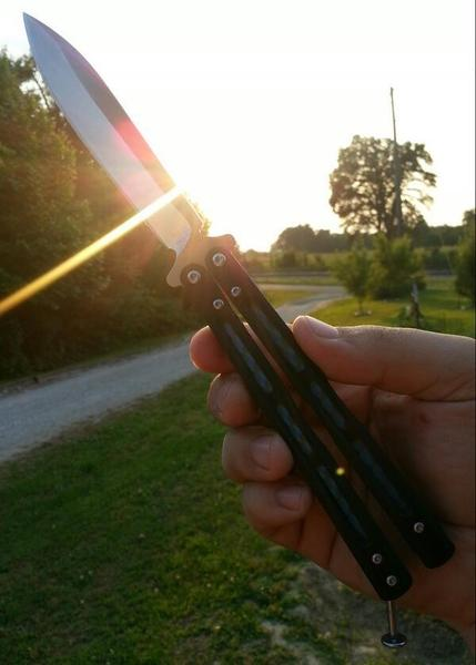 Benchmade - RT scullkrusher: Flipping #benchmade #knife at sunset :) BenchmadeKnives pic.twitter.com/tA63H2dryy