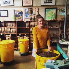 COFFEEUFEEL - MEET THE FAMILY • Jessie is our amazing floor supervisor here at Havana HQ. She keeps the #COFFEEUFEEL moving from our roastery to you! #legend #yellow...