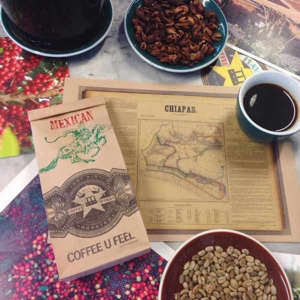 COFFEEUFEEL - LIMITED EDITION! 🇲🇽 Mexican Chiapas Fair Trade Organic: This little beauty has come to us from the GRAPOS co-op in southern Mexico. Sweet molasses, smooth...