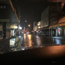 COFFEEUFEEL - Cuba street belonged to Nige, Milo and myself in the wee hours this morning #lifewithanewborn #2weeksold #nightdrive #parenting #nosleep #midnightexpresso...