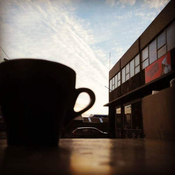 COFFEEUFEEL - Breaking news, 40 foot tulip cup goes on rampage in New town. Not much red this morning, no Shepherds warnings issued. Keep cup discount all day every day x...