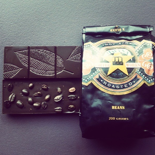 COFFEEUFEEL - Cuban coffee from havanacoffeeworks and dark chocolate equals double whammy wakeup call. You get the caffeine and theobromine in one bar. I might call it...